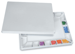 Artist Paint Palette: complete types and differences from Smart Art Materials. Find out what is the best palette for acrylic painting.