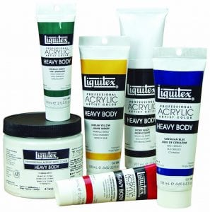 Liquitex Heavy Body Acrylic Paint Smart Art Materials