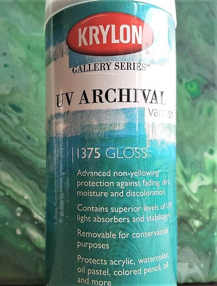 Krylon Spray Varnish - great UV Protection for your Artworks. Ensure the longevity of your painting ;) Smart Art Materials