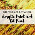The difference between Oil Paint and Acrylic Paint - the most detailed comparison from Smart Art Materials