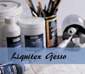 Liquitex Gesso Primer - excellent product from the reliable brand. Smart Art Materials