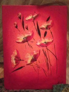 Fire Poppies by Olga Soby