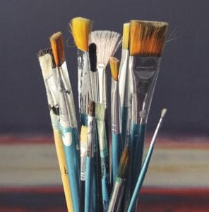 Tools For Acrylic Painting - Brushes, Knives, and more :) Smart Art Materials