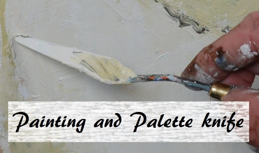 Painting and Palette Knife