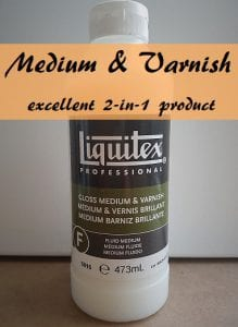Why buy 2 separate products if you can buy this one? Liquitex Gloss Medium and Varnish - excellent 2-in-1 product! Overview by Smart Art Materials