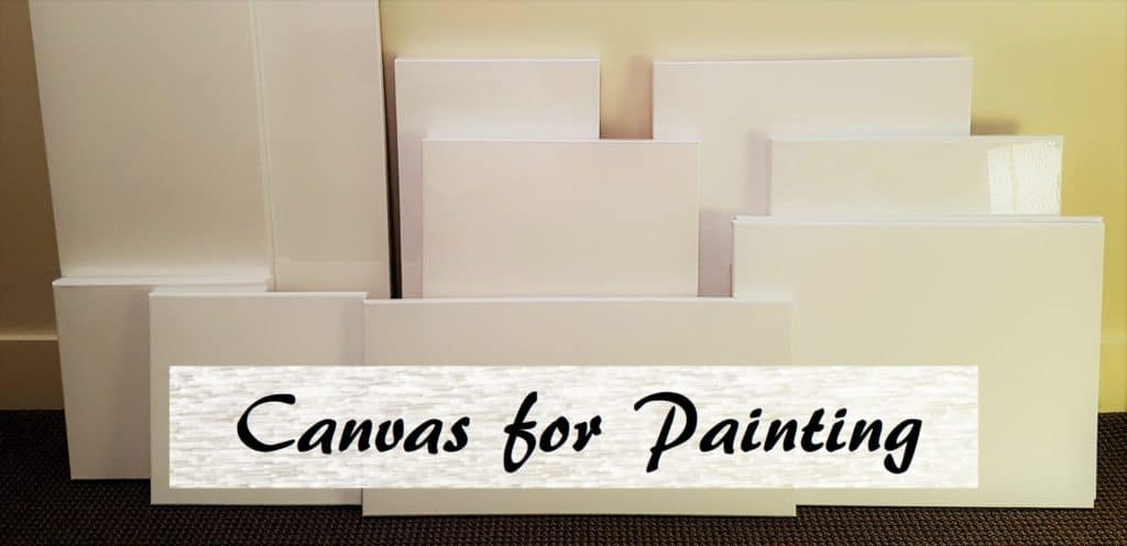 Canvas For Painting Types And Differences Smart Art