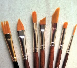 Painting Brush Types Uses And Anatomy Smart Art Materials