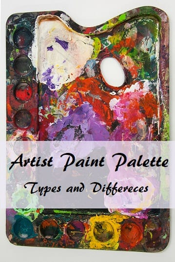 Artist Paint Palette Types And Differences Smart Art Materials