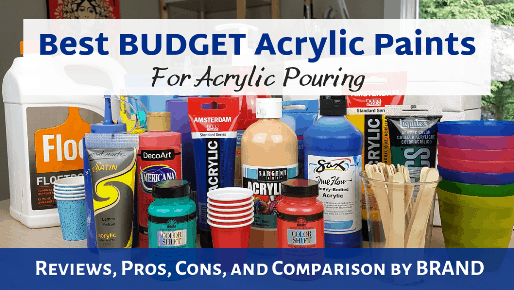 Acrylic Paint Pouring Supplies - Essentials and Fancy Add