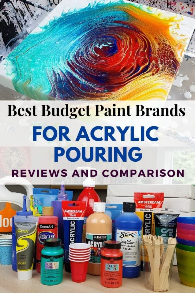Best Budget Paint For Acrylic Pouring By Brand 2019