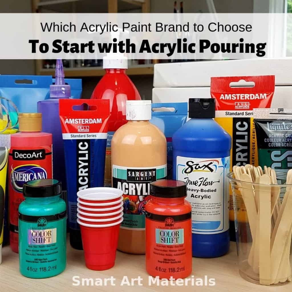 Best Budget Paint For Acrylic Pouring By Brand 2020 Smart Art Materials