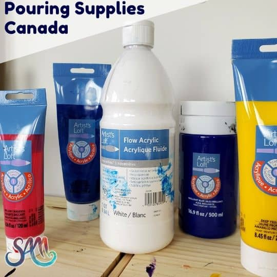 Acrylic Pouring Supplies Canada Where I Buy My Goodies Smart Art Materials